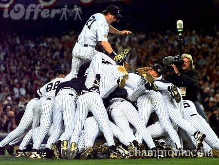 '96 Yanks World Series Champs