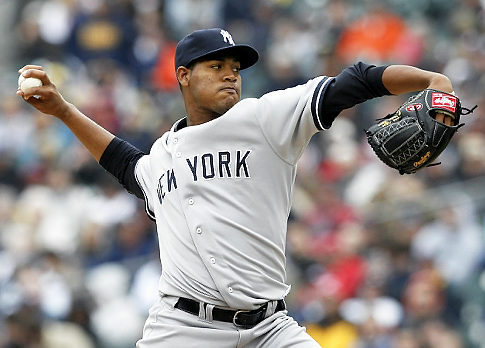 Ivan Nova takes the ball on Wednesday against the Angels