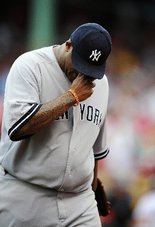 Sabathia is 0-4 with a 7.20 ERA in 2011 vs Boston.