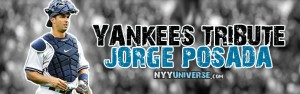 Yankees Tribute Jorge Posada