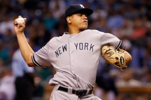 Less than a year ago, Dellin Betances was in the Major Leagues. Now, he's bombed out of the International League and has been demoted to Trenton.