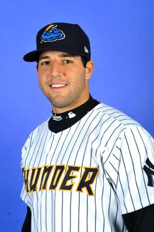 Rob Segedin's 8th inning single gave Trenton a lead they would never relinquish (Photo Credit: Trenton Thunder)