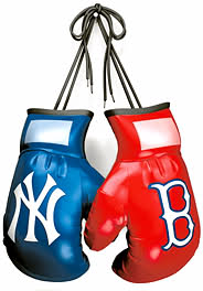 Yanks:Sox boxing gloves