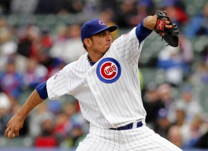 Cubs SP Matt Garza could be the Yankees' best bet for pitching help (Photo Credit: MyCubsToday)