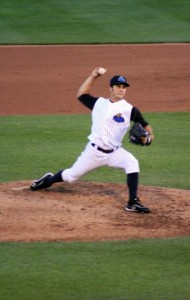 Brett Marshall won tonight's pitcher's duel against Pirates SuperProspect Gerrit Cole (Photo Credit: Trenton Thunder)