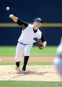 David Phelps was lights out yesterday in Trenton (Photo Credit: David Schofield/Trenton Thunder).