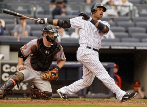 Robinson Cano made history Wednesday afternoon with one swing of the bat