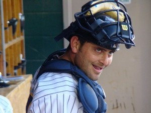 Francisco Cervelli brought in the only runs for the Yankees. (Photo Credit: Brent Mayne)
