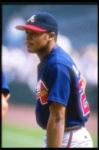 Andruw Jones Rookie year