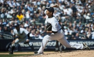 Hiroki Kuroda gave up two and with the weak offense, would get the loss.
