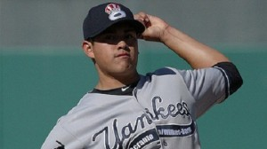 Will Manny Banuelos be added to the 40-man roster in time to be protected from the Rule V draft? (Photo Credit: MiLB.com)