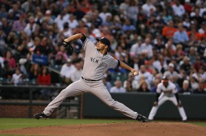 Pettitte notched the first win of the season with eight strong.