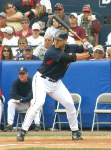 Travis Hafner brought in four runs on a home run and a triple in today&#039;s win.