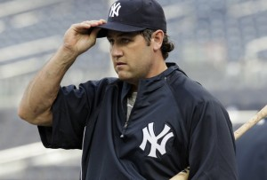 Berkman when he was a Yankee