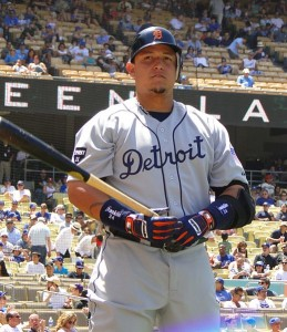 Cabrera has a career .356 batting average against the Yankees.