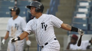 Photo of Gary Sanchez courtesy of MiLB.com.