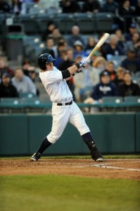 Tyler Austin (Photo: Trenton Thunder on Facebook)