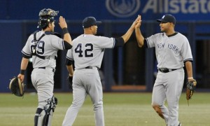 The 2013 Yankees have won on the strength of timely hitting and dominate late inning relief.  (Photo Credit: Brad White/Getty Images).