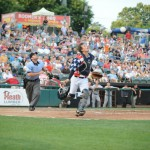 Trenton catcher J.R. Murphy has made significant strides behind the plate this season (Photo: Trenton Thunder/Facebook.com)