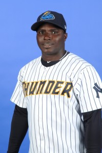 Ronnier Mustelier returned to action this week (Photo Credit: Trenton Thunder)