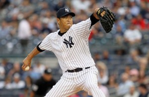 Hiroki Kuroda shuts down the Blue Jays for 8 innings. (Photo courtesy of Newsday)