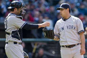 Romine's first RBI helped Vidal Nuno to his first MLB win today. (Photo by Jason Miller/Getty Images)
