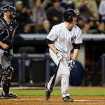 Lyle Overbay brought in two runs, including the go-ahead run in the seventh. (Photo by Elsa/Getty Images)