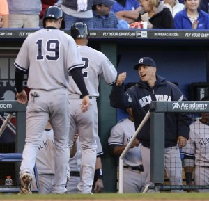 Vernon Wells hit the go-ahead two-run home run in tonight&#039;s win. (Photo by Ed Zurga/Getty Images)