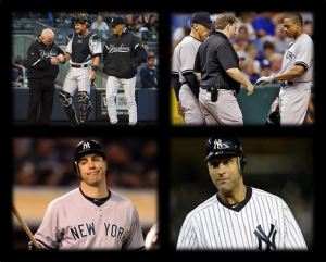 Francisco Cervelli, Curtis Granderson, Mark Teixeira, and Derek Jeter have all spent significant time on the disabled list in 2013 for the Yankees.