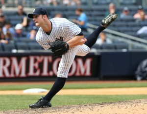 David Robertson has never averaged under 10.4 K/9 in his six-year career. (Photo by Elsa/Getty Images)