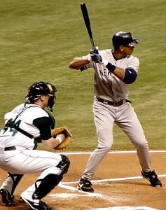Alex Rodriguez in 2005