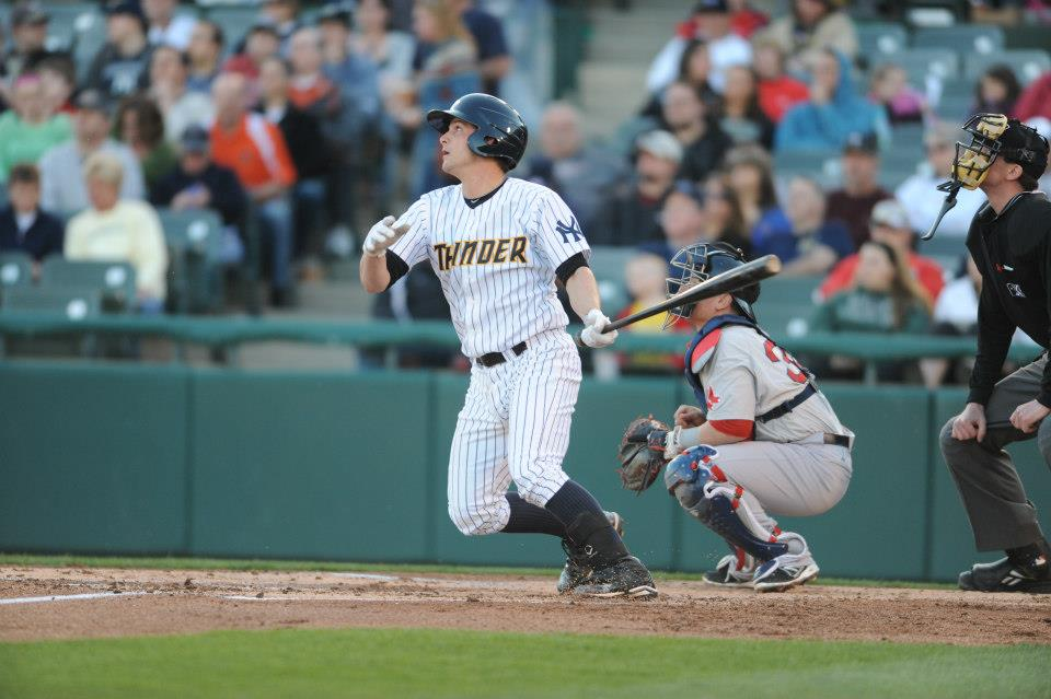 J.R. Murphy could have the biggest impact of all potential September call-ups (Photo: Trenton Thunder/Facebook.com)
