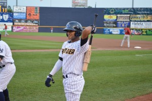 Trenton Thunder outfielder Mason Williams may be one of the most athletically-gifted prospects in the Yankees system.