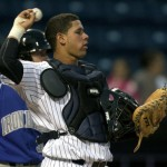 Gary Sanchez found his name at the top of Baseball America's annual top Yankees prospects list (Photo: MiLB.com)