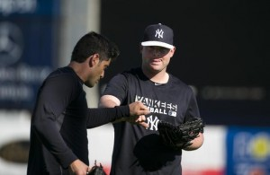 Brian McCann and the Yankees take on the Phillies (Corey Sipkin/New York Daily News)