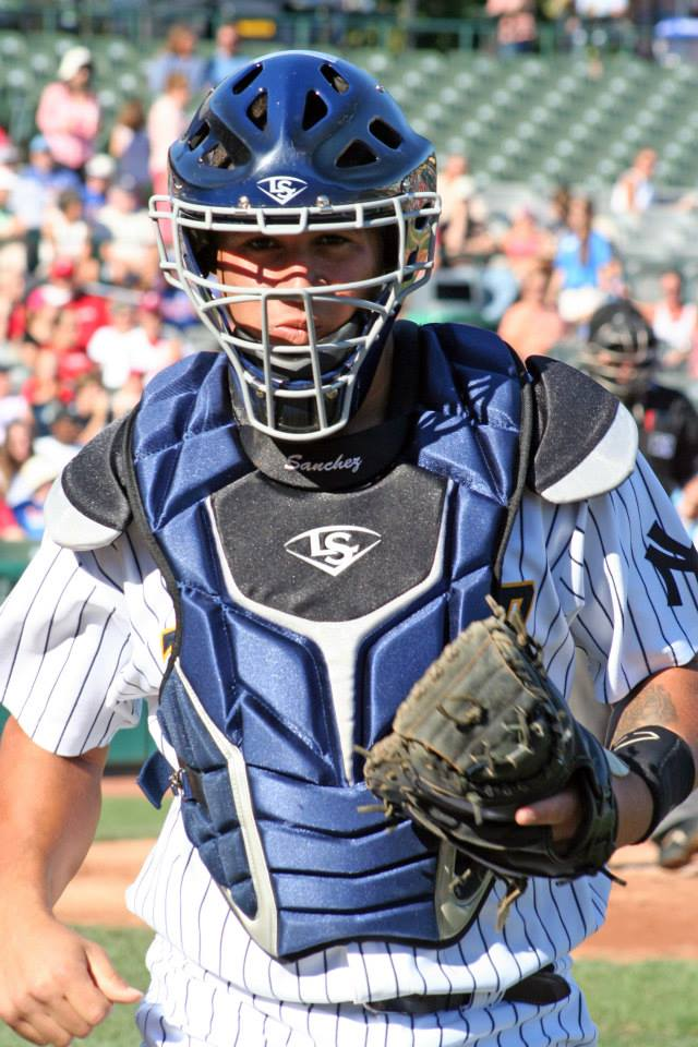 Gary Sanchez headlines BP's prospect rankings for 2014 (Photo Credit: Trenton Thunder/Facebook.com)