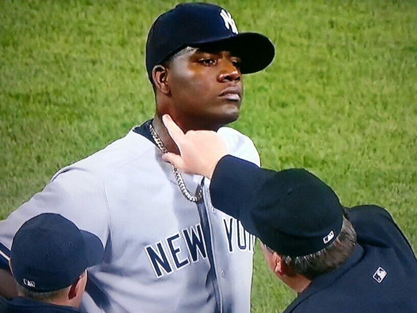 Pineda Admits to the Substance