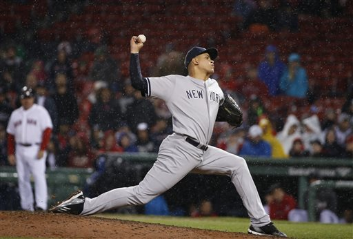 Dellin Betances has wowed management and fans this season, striking out 42 batters in 24.1 innings pitched.
