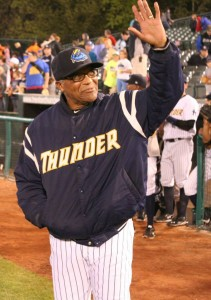 Tony Franklin has become the Eastern League's winningest manager. (Credit: Trenton Thunder/Facebook.com)