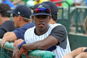 Luis Severino has landed on the DL with an oblique injury. (Photo: Trenton Thunder/Facebook.com)