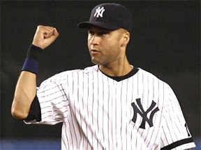 Jeter has 96 hits in 66 career Division Series games.