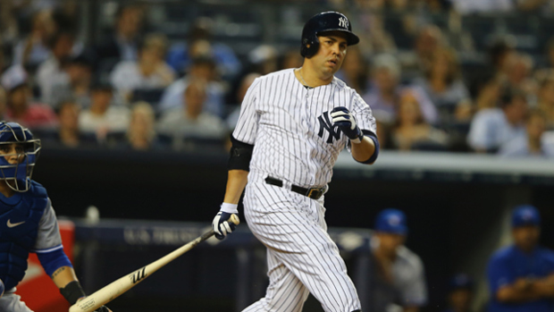 Carlos Beltran has been dropped to sixth in the lineup (Al Bello/Getty Images)