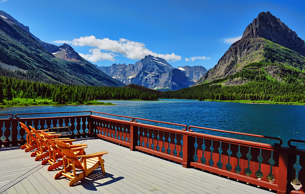 Glacier National Park in northern Montana, USA