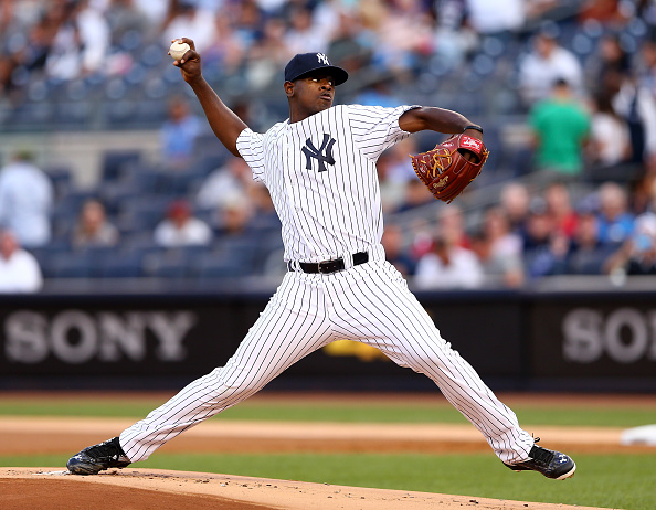 on August 5, 2015 at Yankee Stadium in the Bronx borough of New York City.