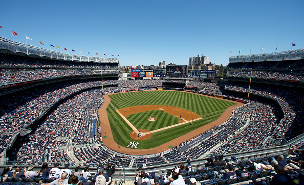 on May 23, 2015 at Yankee Stadium in the Bronx borough of New York City.