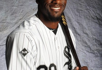 GLENDALE, AZ - FEBRUARY 28:  Jared Mitchell #77 of the Chicago White Sox poses for a portrait during Photo Day on February 28, 2015 at Camelback Ranch-Glendale in Glendale, Arizona.  (Photo by Rich Pilling/Getty Images)