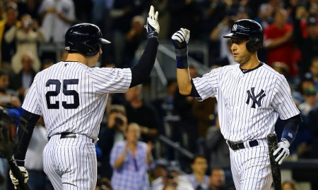 Mark Teixeira and Derek Jeter weigh in on Bat flip celebrations