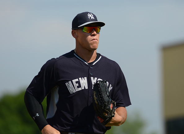 Aaron Judge- Yankees player most likely to spring forward
