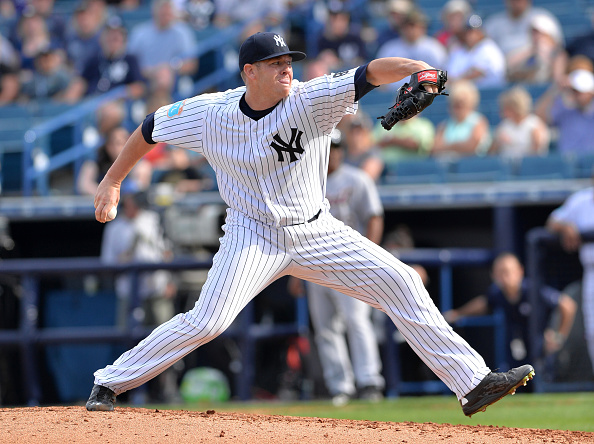 Barbato boards Scranton Shuttle to make way for Aroldis Chapman