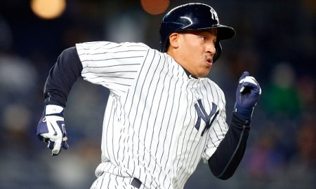 NEW YORK, NY - APRIL 06:  Ronald Torreyes #17 of the New York Yankees in action against the Houston Astros at Yankee Stadium on April 6, 2016 in the Bronx borough of New York City. The Yankees defeated the Astros 16-6.  (Photo by Jim McIsaac/Getty Images)